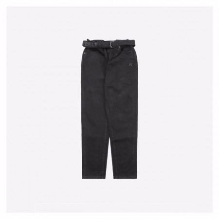 Off White 20Fw Trousers Black With Arrow
