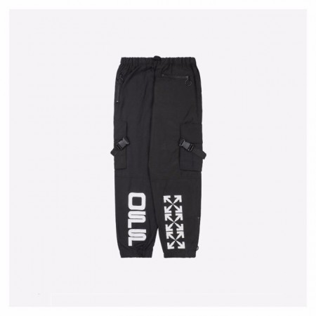 Off White 20Fw Trousers Black