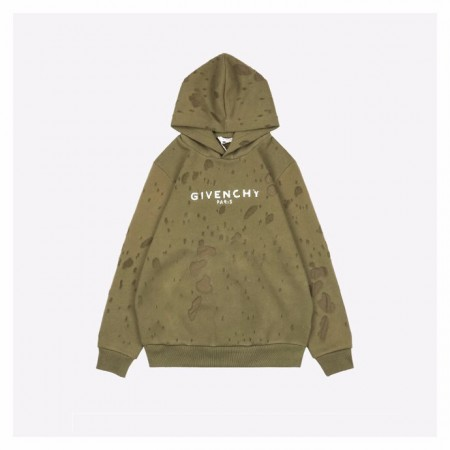 Givenchy 20Fw Brown Hoodie
