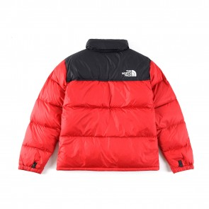 The North Face Puffer Jackets Red