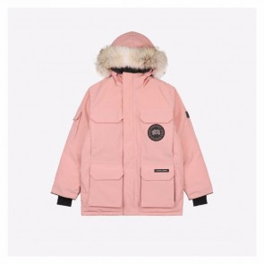 Canada Goose Expedition Pink Parka