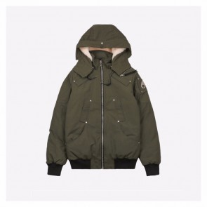 Moose Knuckles Army Green Parka