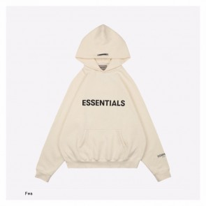 Fear Of God-Essentials Off White Hoodie