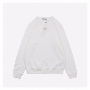 Dior 20ss White Hoodie With Bee
